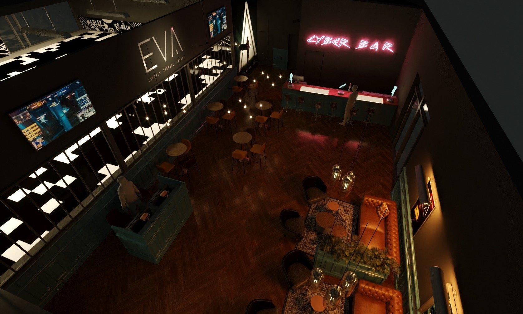 EVA 3D Layout
